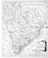 Georgia South Carolina Map 1779 Map Of South Carolina English