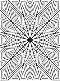 coloring page design geometrip com features high quality geometric coloring designs