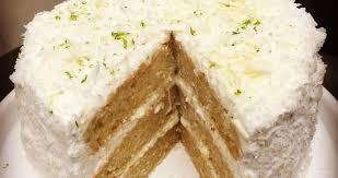 panna cotta hervé cuisine layer cake coco et citron vert hervé cuisine cake