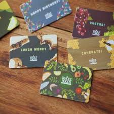food gift cards whole foods market gift card food