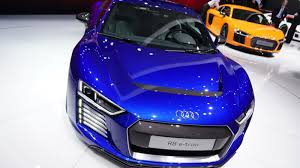 audi sports car audi u0027s r8 sports car now comes with an all electric option the verge