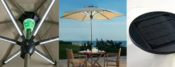 solar led umbrella lights 10 foot solar led patio umbrella just 4999 shipped regularly led
