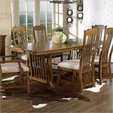 Mission Style Dining Room Tables Mission Style Dining Room Furniture Trestle Dining Table
