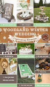 Winter Wedding Decorations Woodland Winter Wedding Decorations How To Capture The Look