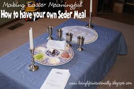 messianic seder plate seder meal