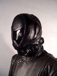leather mask bob basset s lair rider leather mask