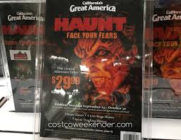 costco halloween decorations great america halloween haunt 2016 general admission ticket