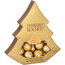 ferrero rocher fine hazelnut chocolates 10 6 oz pack walmart com