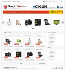 8 cool templates for online shop gadgets for blogger lets start