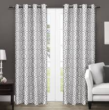 Amazon White Curtains Amazon Curtains Curtain Amazon Com Best Home Fashion Damask