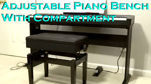 Yamaha Piano Bench Adjustable Adjustable Piano Bench Unboxing U0026 Review Youtube