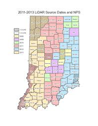 Map Indiana 2011 2013 Indiana Orthophotography Rgbi Lidar And Elevation