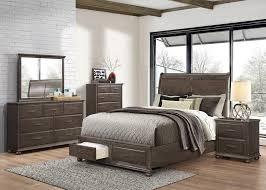 bedroom furniture outlet arabelle 4pc king storage bedroom set