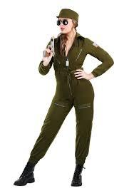 Army Halloween Costume Women Army Flightsuit Costume Women