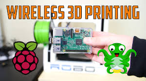wireless 3d printing with octopi and raspberry pi 2 youtube