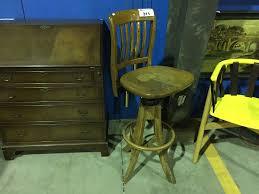 Krug Furniture Kitchener Krug Furniture Company Kitchener Ontario Oak Drafting Table Stool