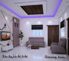 bright and modern house hall interior design of houses in india