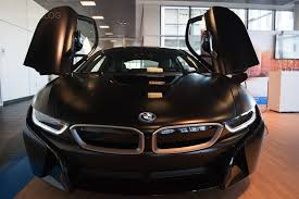 Bmw I8 Doors - two bmw i8s that shine in different ways