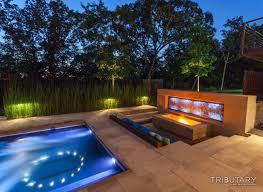 Custom Landscape Lighting by Pool And Landscape Design Pool Design Ideas