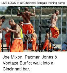 Cincinnati Bengals Memes - live look in at cincinnati bengals training c nfl memes joe mixon