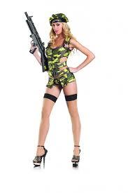 Army Halloween Costumes Girls Brat 3pc Costume