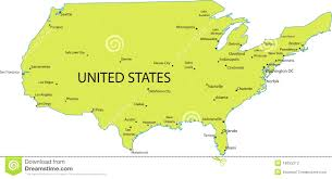 united states map with state names and major cities united states map with state names and major cities 94 high for