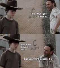 Rick Meme - the 18 best rick and carl memes smosh