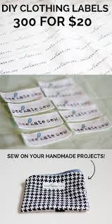 printable fabric tags 7 unique diy clothing labels mabey she made it