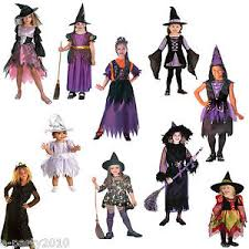 Witch Halloween Costumes Assorted Witch Halloween Costumes Child Teen Toddler Party