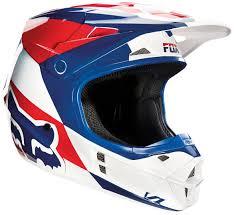 motocross gear sale uk fox bmx helmet fox v1 mako helmets motocross white blue red fox