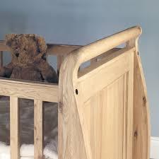 Childrens Bedroom Oak Furniture Amelie Oak Cot Bed With Three Drawers Amelie Oak Children U0027s
