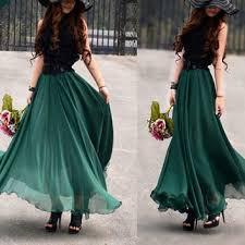 flowy maxi skirts best silk chiffon maxi skirt products on wanelo