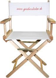 chaise r alisateur chaise realisateur cinéma personnalisable
