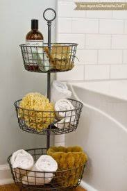 Bathroom Basket Ideas Attractive Bathroom Basket Ideas Looking 2 Ad Diy Storage