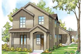 100 narrow lot house plans with front garage narrow home