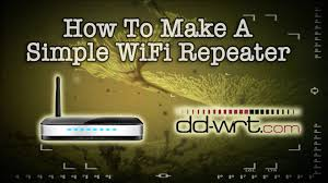 how to make a simple wireless repeater youtube