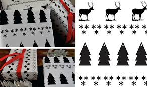 black and white wrapping paper 15 creative diy gift wrap ideas the dieline packaging branding