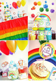 Rainbow Themed Birthday Favors by 14 Best Rainbow Theme Images On Rainbow