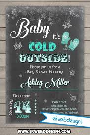 baby it s cold outside baby shower it s cold outside baby shower invitation printable file custom