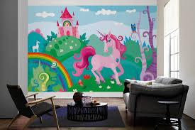 livingwalls photo wallpaper pink unicorn 471928 livingwalls