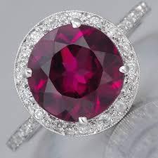 fay cullen archives rings art deco almandine garnet ring