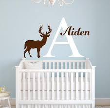 Personalized Name Wall Decals For Nursery by Name Baby Nursery Room Wall Sticker Custom Name For Girls And Boys