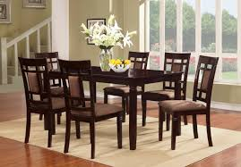 wooden dining room table solid wood dining table and chairs