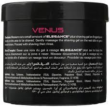 amazon com elegance plus shaving gel jupiter 16 9 ounce beauty