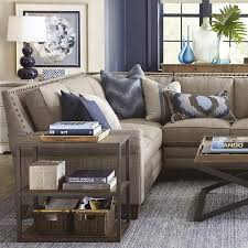 Traditional Living Room Living Room Bassett Sectional Sofas Traditional Living Room