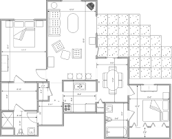 Two Bedroom Floor Plan by Two Bedroom Deluxe Floor Plan Autumn Ridge Supportive Living