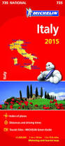 Itsly Map Michelin Italy Overview Map 735 Karen Brown U0027s World Of Travel