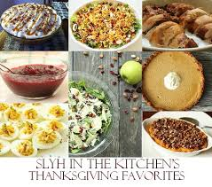 thanksgiving favorites slyh in the kitchen