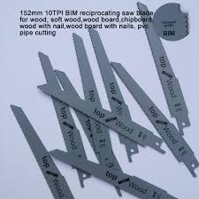 reciprocating saw bi metal jig saw blade for wood working and wood