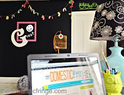 chalkboard paint wall decals eclectic home office playroom home
